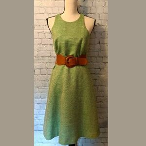 BANANA REPUBLIC Womans Dress Size 4 Green Lined